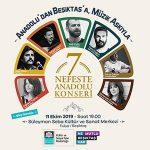 '7 Nefeste Anadolu Konseri' Beşiktaş'ta